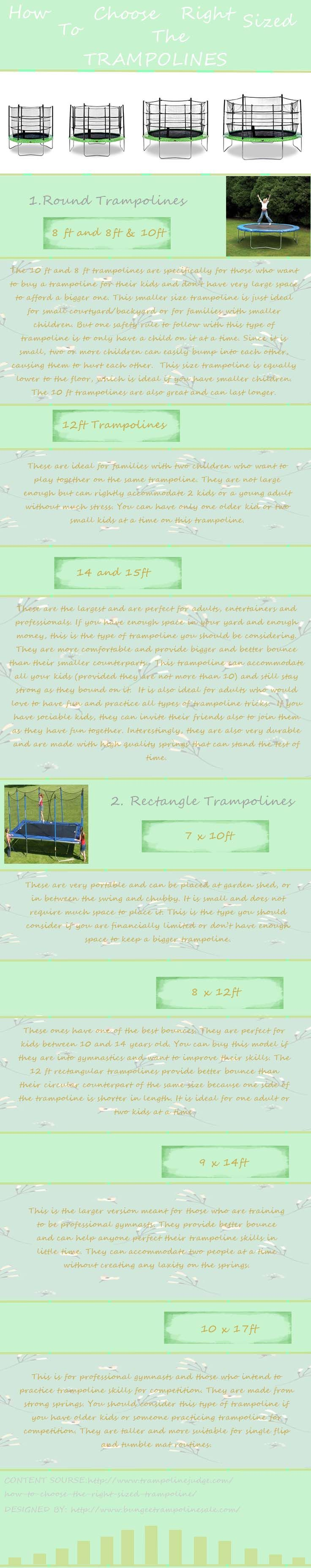 How to Choose the Right Sized Trampoline