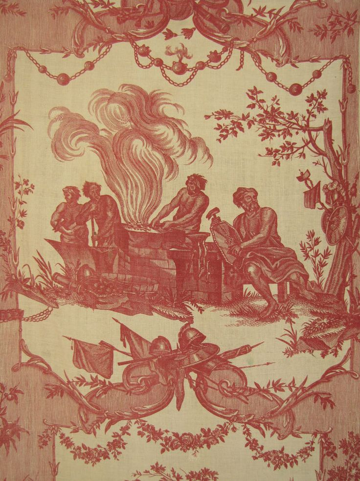 377 best toile images on pinterest canvases toile and for French toile fabric