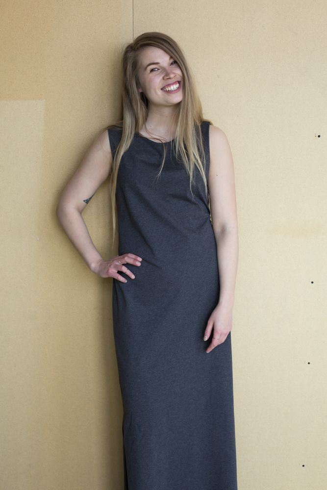 Mori Collective Ariel Maxi Dress - Sea Salt Pic: www.ainohuotari.com