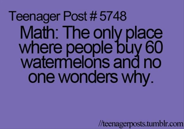 Pinterest Funny as Hell Pics | Dump A Day funny math jokes ...