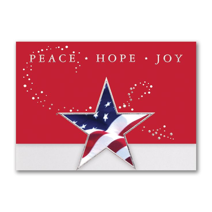 13 best Patriotic Holiday Cards images on Pinterest | Holiday ...