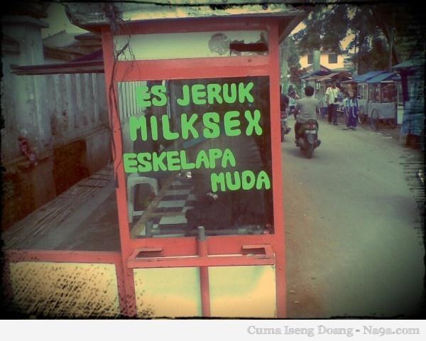 Milksex ??? hahaha..ngakak
