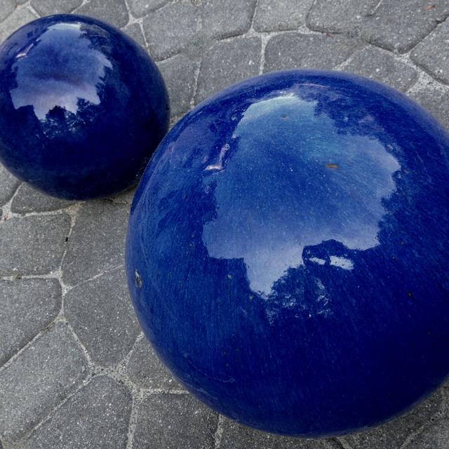 Having a ball. Or two.: Garden Ideas, Ball, Yard
