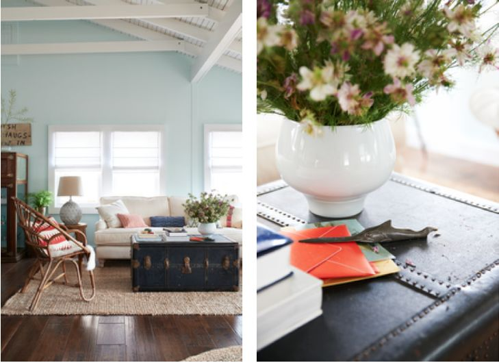 Country Living The Fig House Spring Mint Paint B Moore Color Not As Saturated Some Of Pics Suggest