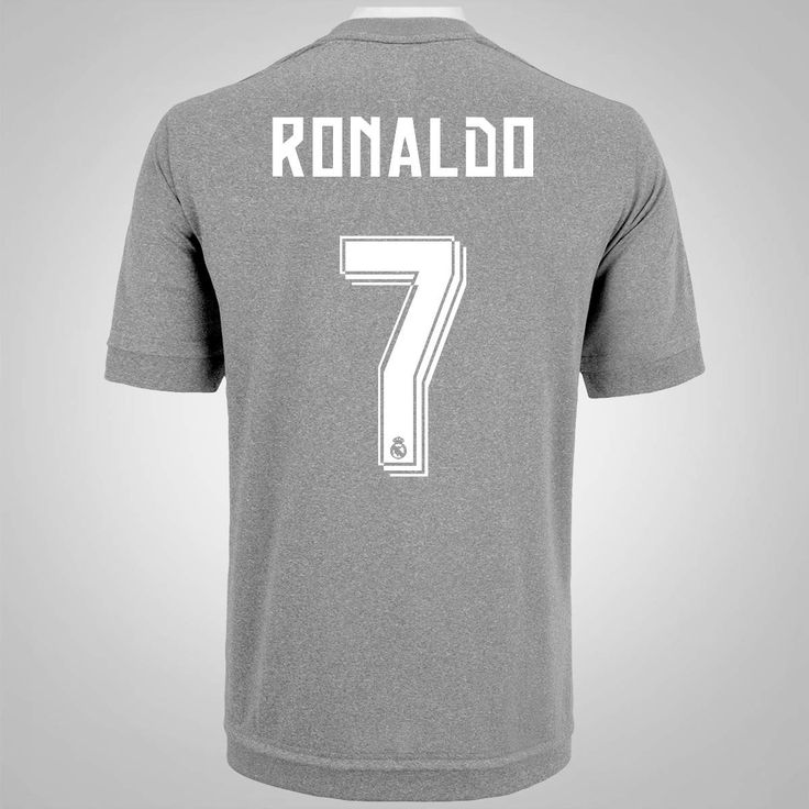 Camisa Real Madrid II 2015 adidas - n°7 - Cristiano Ronaldo - Masculina