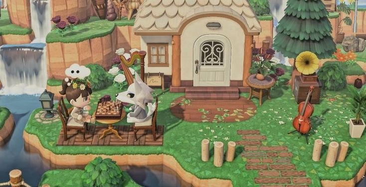 10++ Animal crossing villager houses images