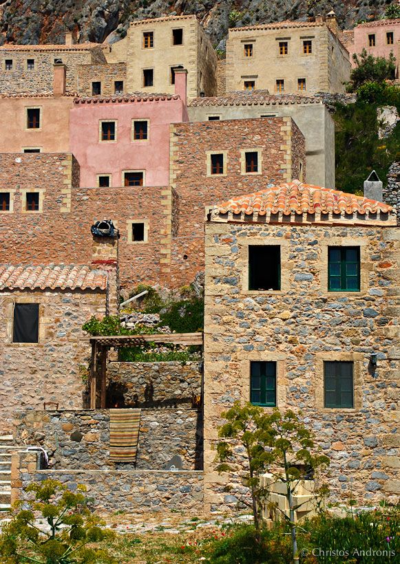 Monemvasia, Lakonia, Peloponnese, Greece.  - Selected by www.oiamansion.com in Santorini.