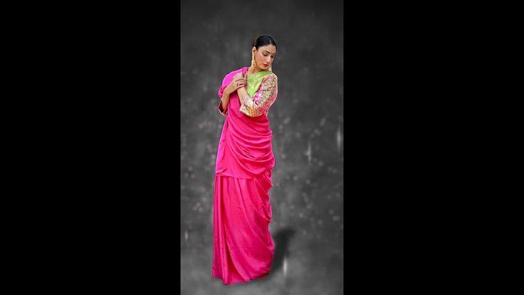 Indian wedding sarees online shopping pink saree with bridal blouse
