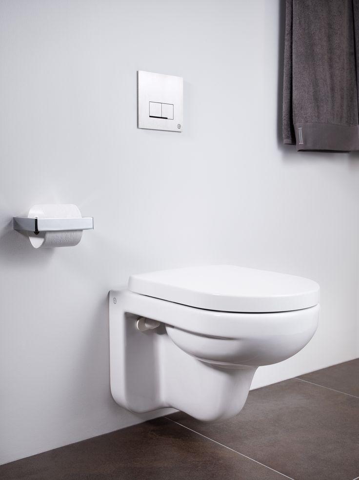 Vägghängd toalett Artic 4330. Tillverkad i hygieniskt, hållbart och tätsintrat sanitetsporslin.