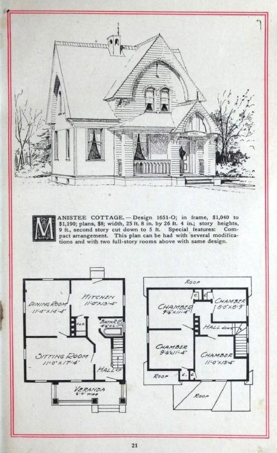 Artistic Homes, 1905.  Herbert C. Chivers, Architect. From the Association for Preservation Technology (APT) - Building Technology Heritage Library, an online archive of period architectural trade catalogs. Select an era or material and become an architectural time traveler.