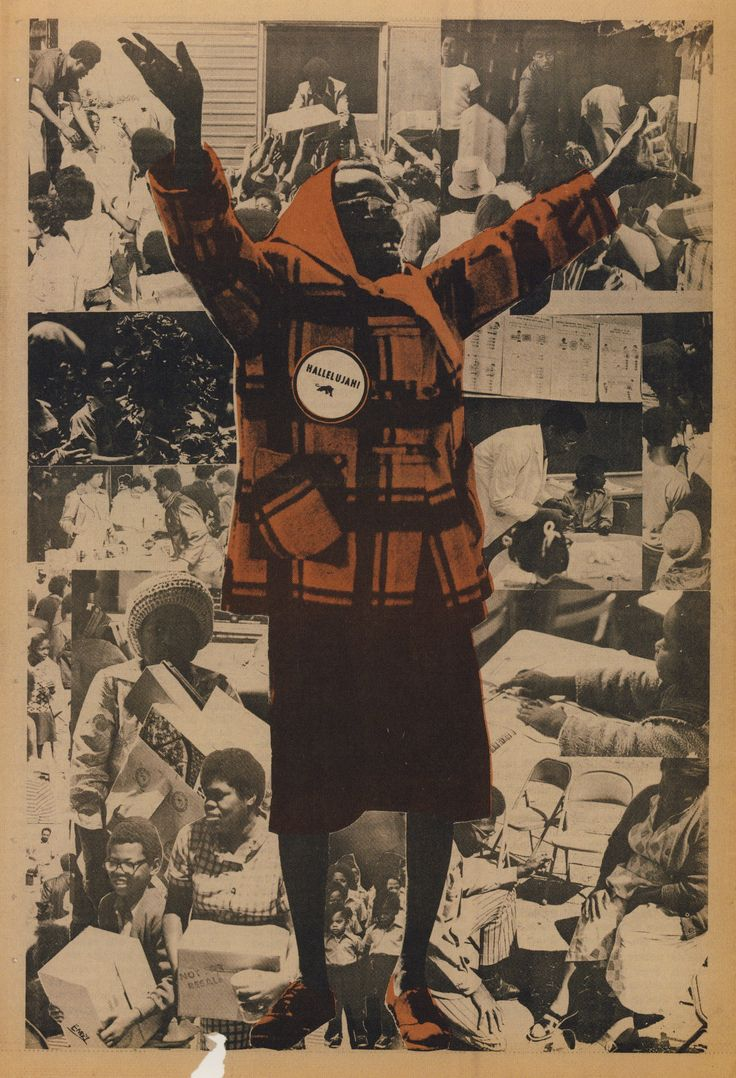 Emory Douglas. Hallelujah! 1971.