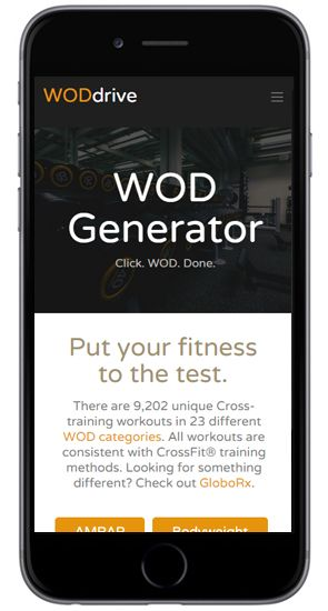 Cross-training, Functional Fitness, Free CrossFit® Workout List, and Workout of the Day (WOD) Generator | WODdrive.com