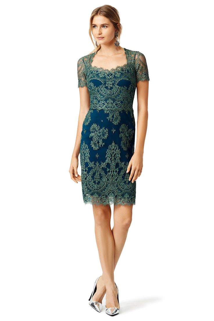 Wedding Guest Dresses Lace : Runway dresses mob guest short sleeve