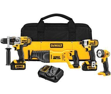 Congrats to Naomi McQuade from Tacoma, WA for winning the DEWALT 4-tool combo kit.  Great job Naomi!  #LiveToWin #sweepstakes #prizes