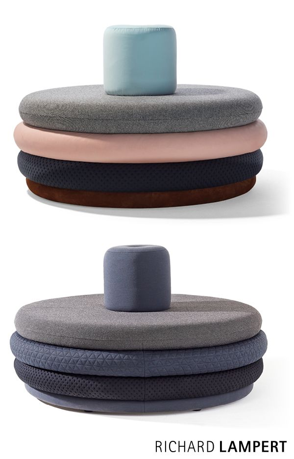 An island of tranquillity – ›ISLAND TOM‹ pouf by Alexander Seifried