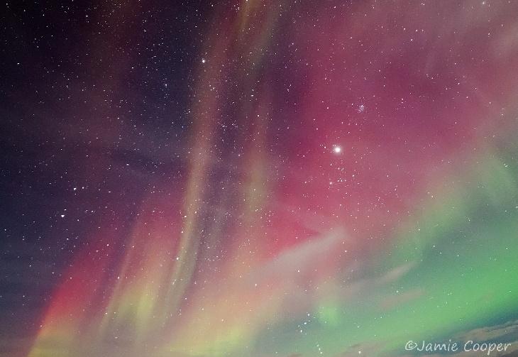 Jupiter Immersed In The Aurora - Northern Finland