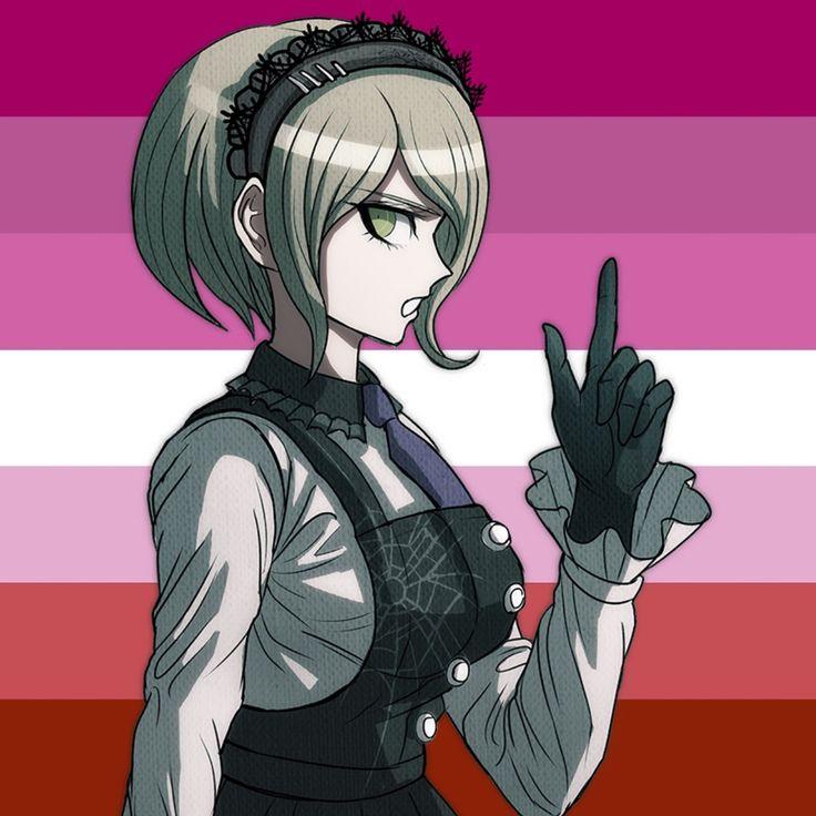 lesbian Kirumi pride icon! feel free to use | Lesbian flag