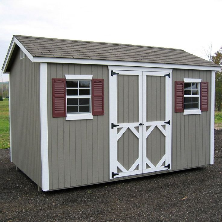 little cottage 16 x 12 ft classic wood workshop panelized garden shed storage sheds
