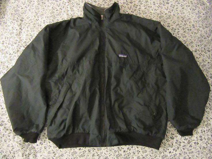 mens patagonia fleece lined jacket sz L #Patagonia #FleeceJacket