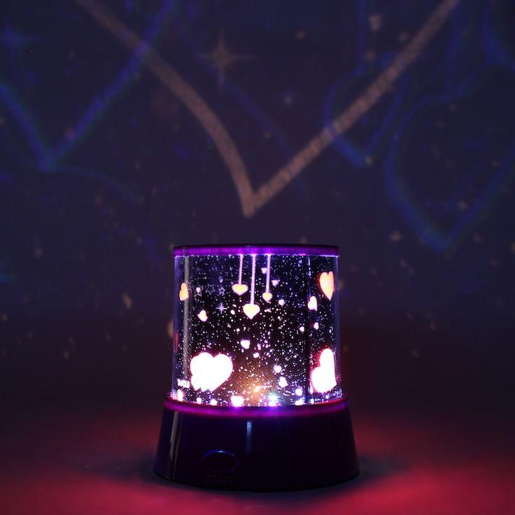 Проектор звездного неба LOVE перенесет вас в невероятный мир созвездий и мерцающих галактик. Он проецирует на потолке яркие звезды и наполняет помещение мягким волшебным светом LED подсветки. Встроенные светодиоды постепенно меняют цвет своего свечения, что создает многоцветное мерцание в вашей комнате.  #step2gift #шагкподарку #devipoint #thinkgreen #Проектор #звездного #неба #LOVE