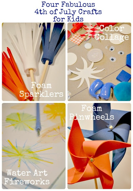 The Life of Jennifer Dawn: 4th of July Crafts for Kids Make them in red, white and blue (and some orange) for Koningsdag
