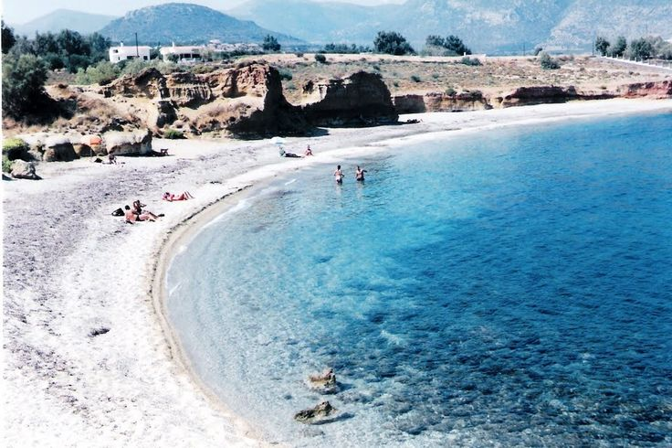 "Monemvasia - a beach in ""Xifias"" (Sep 18, 2000)"