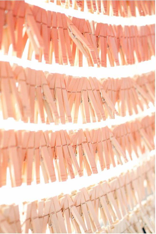 ombre clothespins... beautiful! via erin ever after via SMP. #DIYCrafty