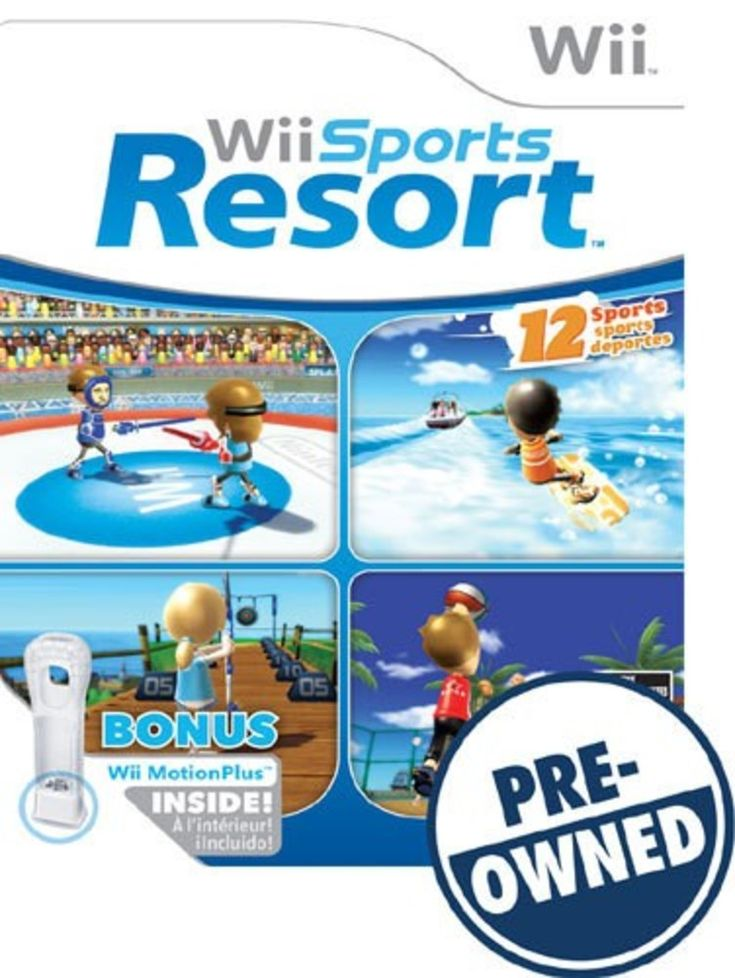 Wii Sports Resort — PRE-Owned - Nintendo Wii