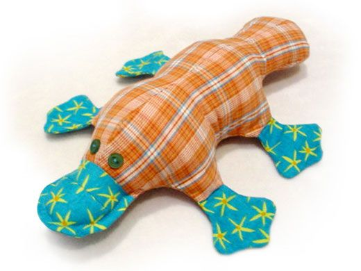 Photo tutorial – How to sew Plattie Platypus