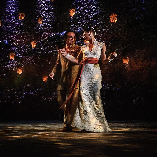 The joy of the first dance @xcaretpark #xcaret #mexico #wedding #photographer #parquexcaret