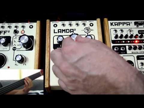 Epsilon 0:21 Omikron 1:47 Omikron+Kappa 2:18 Lamda 3:10 Taff 4:47 All together 5:51 on bass Petros Lamprides basses used Custom 5-string Fretless Odyssey Cus...