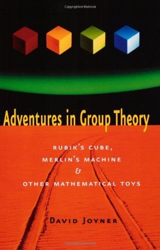 Adventures in Group Theory: Rubik's Cube, Merlin's Machine, and Other Mathematical Toys - Group theory deals with symmetry, in the most abstract form possible.  It is a core part of the undergraduate math curriculum, and forms part of the training of theoretical physicists and chemical crystallographers.  Group theory has tended to be very dry — until now.