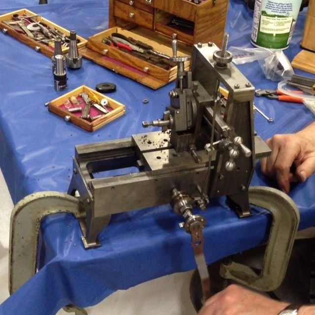 Yesterday I attended the North American Model Engineering Society expo. The scale models and objects on display were unbelievable. Listening in on conversation amongst old-timers that crafted these works of art was equally inspiring. It was a humbling experience and I left with a better understanding of how little I know. #instamachinist #modelengineering #craft #craftsmanship #machineart #scalemodel