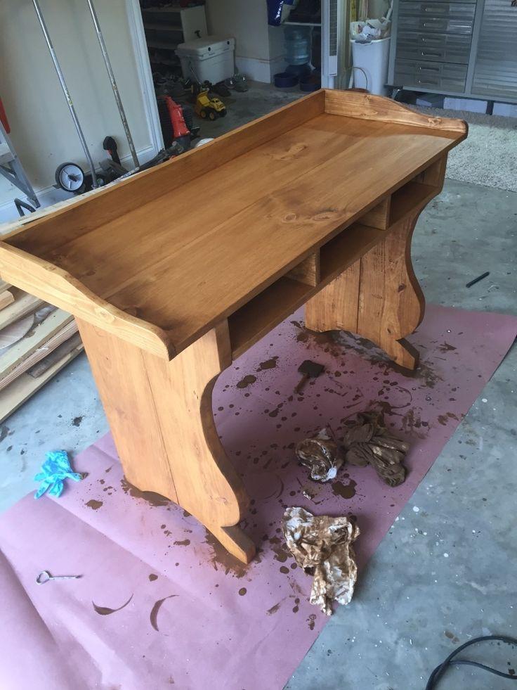 Schreibtisch Selber Bauen   So Geht Es   DIY, Möbel