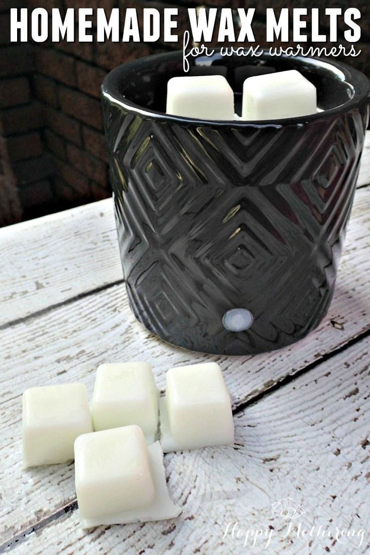 homemade natural wax melts for wax warmers home homemade and crafts. Black Bedroom Furniture Sets. Home Design Ideas