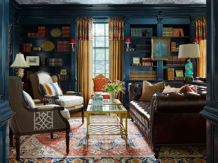 How to use light, color and, of course books, to create a perfect spot to read