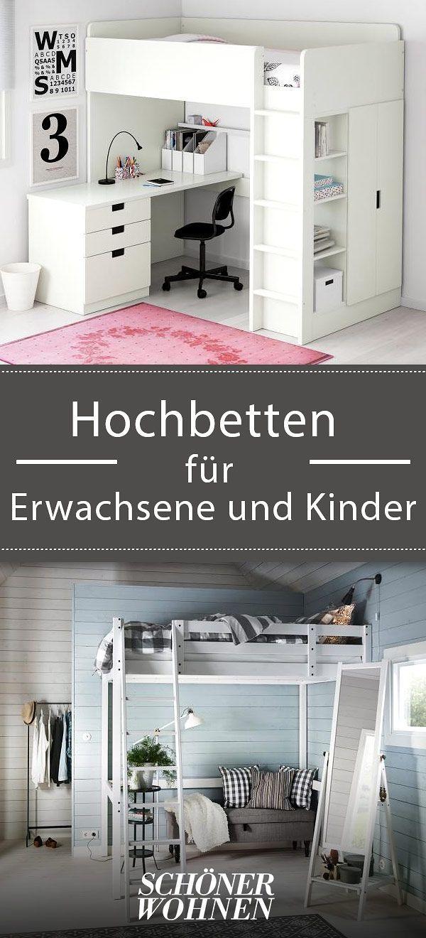 hochbetten f r erwachsene und kinder hochbett stor von. Black Bedroom Furniture Sets. Home Design Ideas