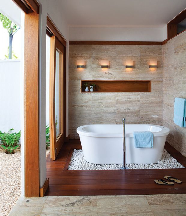 28 Spa Like Bathrooms That Invite Relaxation