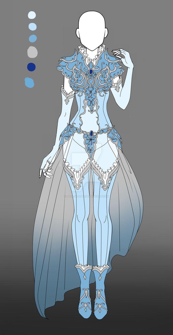 Armor Design Adopt - CLOSED by Luca-Adopts.deviantart.com on @DeviantArt