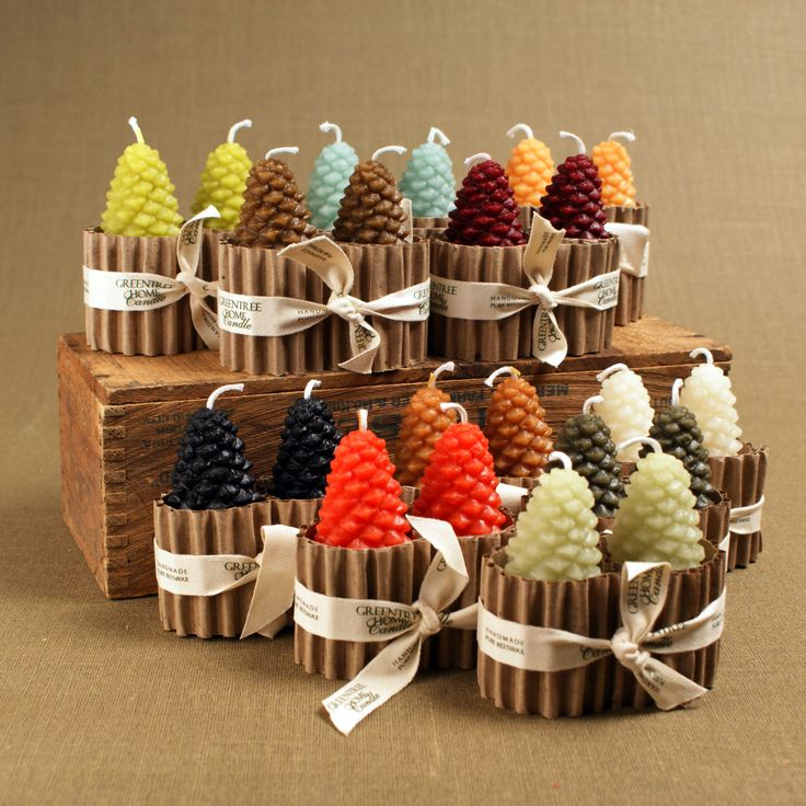 Small Pine Cones from Greentree Home Candle