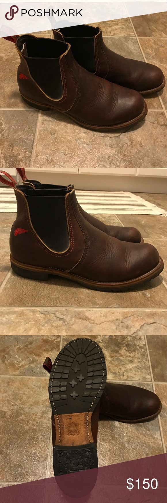 Red Wing 2917 Chelsea Rancher Boots These boots are barely worn, beautiful, excellent condition! Red Wing Shoes Shoes Boots