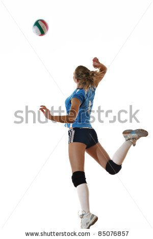 Stock Images similar to ID 211893334 - a female beach volleyball...