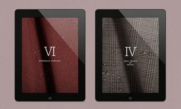Norwegian Rain Website by Anti, via Behance