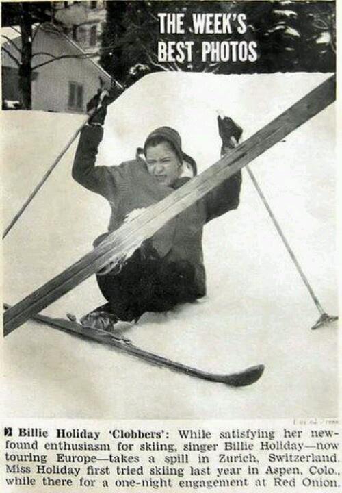 Billie Holiday Skiing