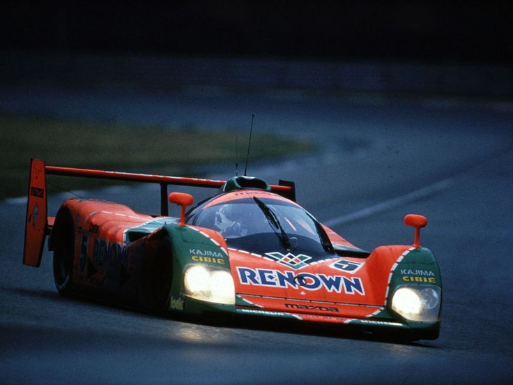 1991 Winner of Le Mans Mazda 787B - 4 Rotor Naturally Aspirated Engine