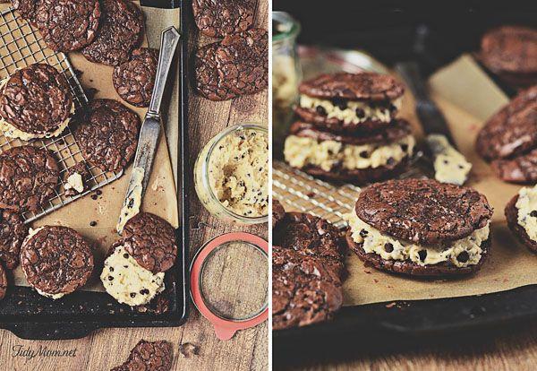 Cookie Dough Brownie Cookies