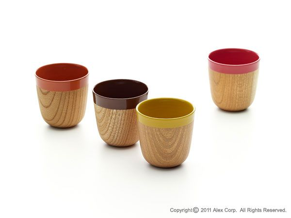 Elegantly simple cups of the finest quality