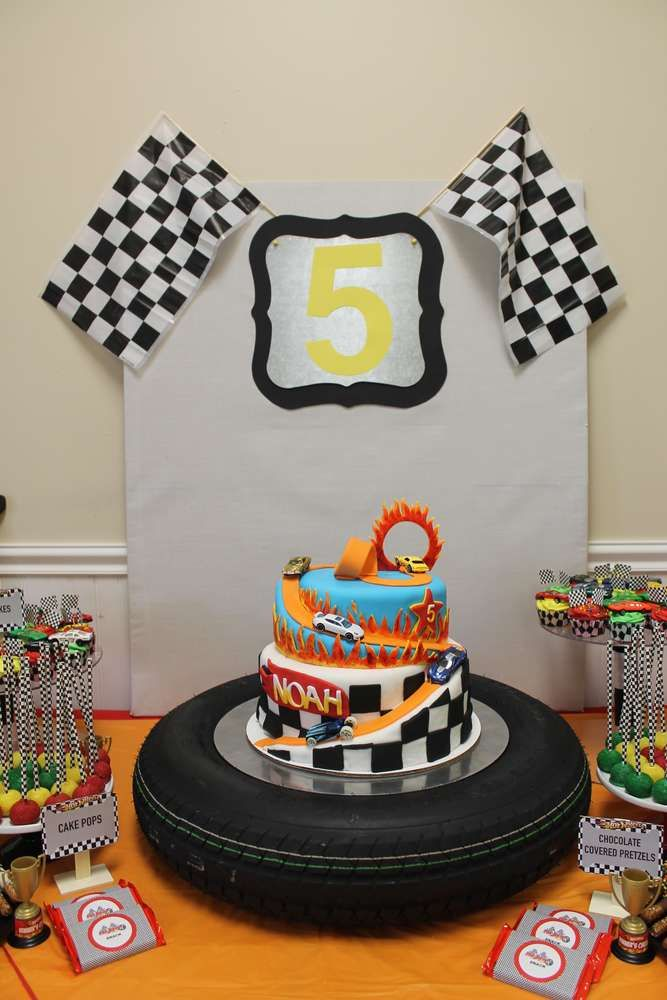 Hot Wheels Birthday Party Ideas | Photo 1 of 31 | Catch My Party