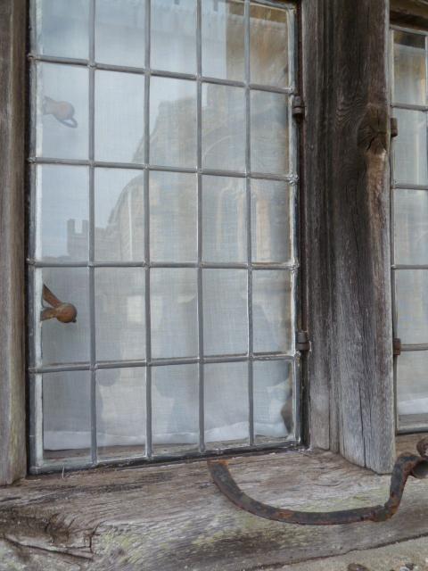 glas-in-lood raam.