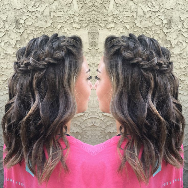 Party Jordan Hairstyles For Short Hair : Best 25 homecoming hairstyles down ideas only on pinterest